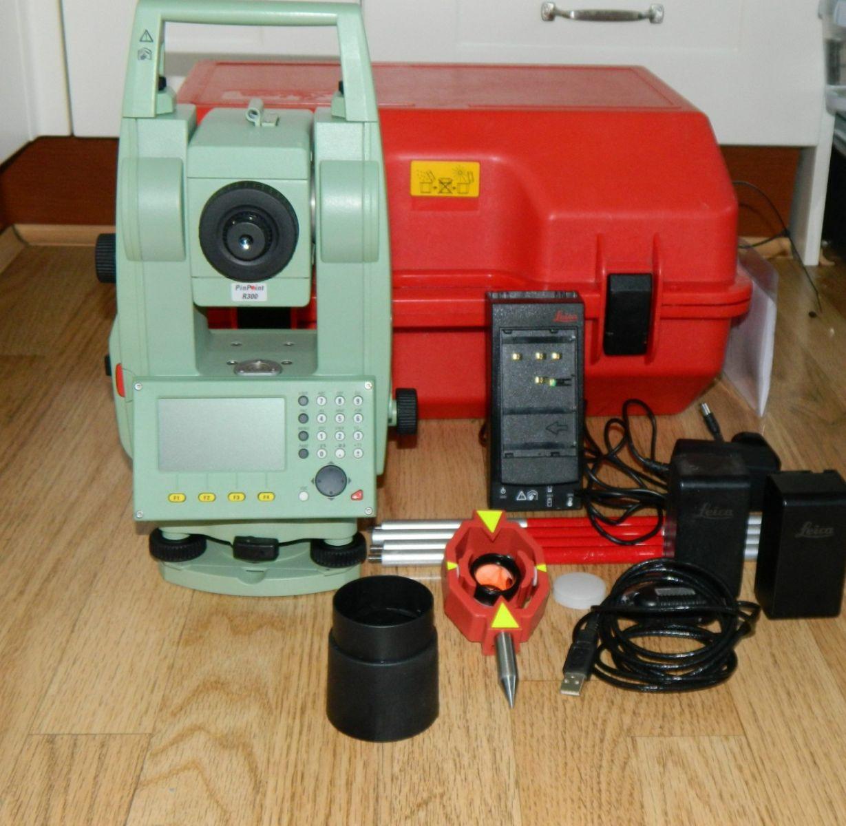 Hướng dẫn sử dụng máy toàn đạc điện tử Leica chi tiết