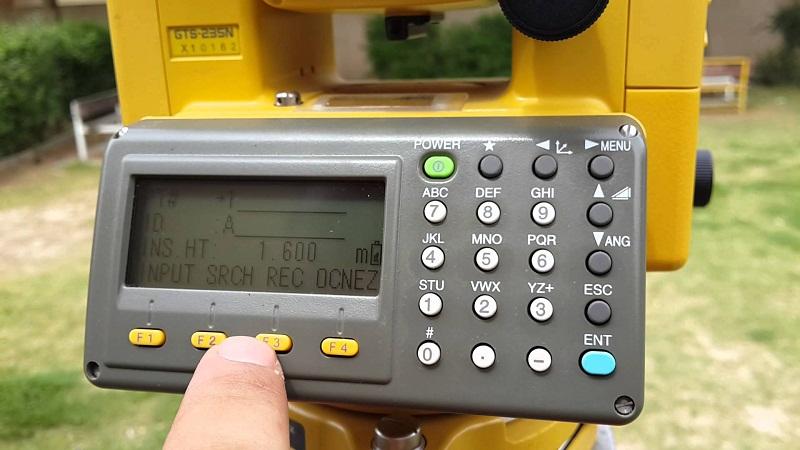 Hướng dẫn sử dụng máy toàn đạc điện tử Topcon chi tiết nhất