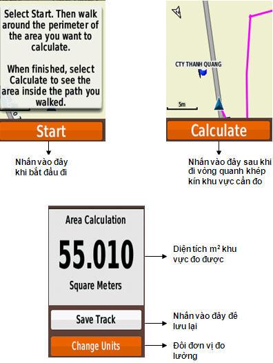 các bước đo diện tích đất bằng máy định vị cầm tay