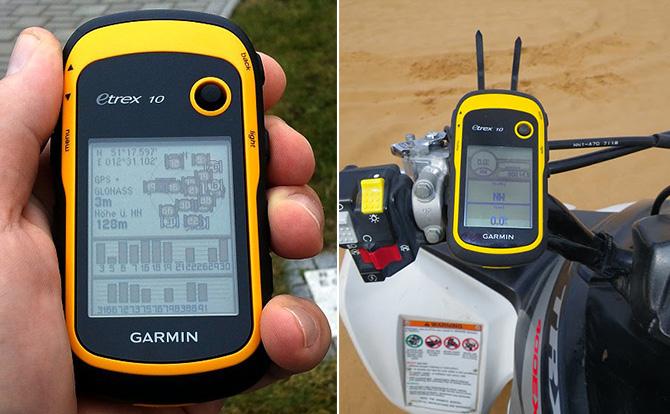 Máy định vị cầm tay GPS Garmin Etrex 10 | Trắc địa bản đồ 1