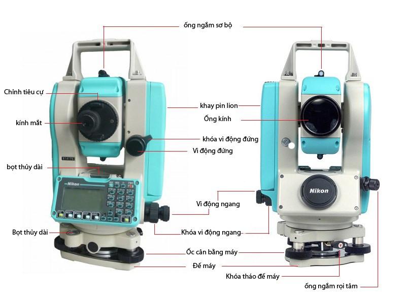 Hướng dẫn sử dụng máy toàn đạc Nikon đầy đủ nhất