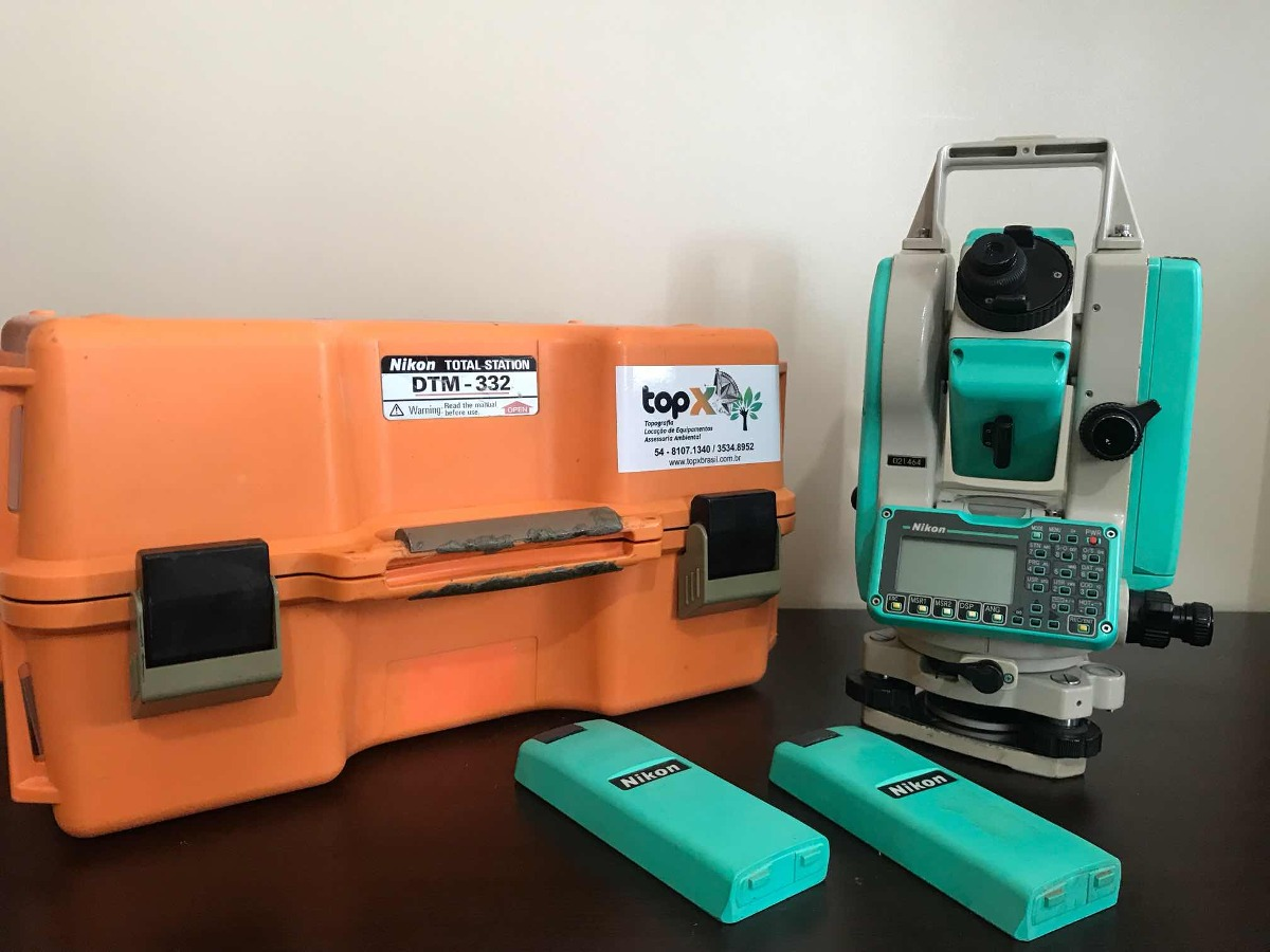Máy toàn đạc điện tử Nikon DTM 332 mới - cũ | Trắc Địa Bản Đồ 2