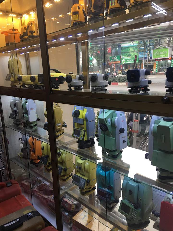 Giới thiệu các dòng máy trắc địa tại Trắc Địa Bản Đồ 2