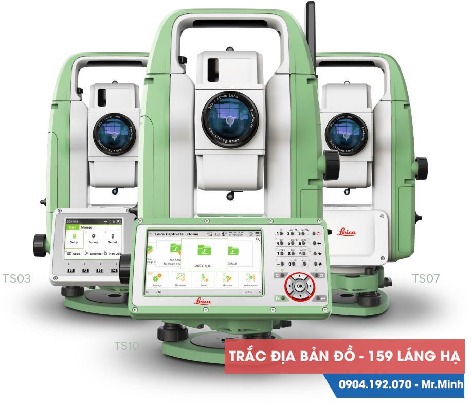 Máy toàn đạc điện tử Leica TS07