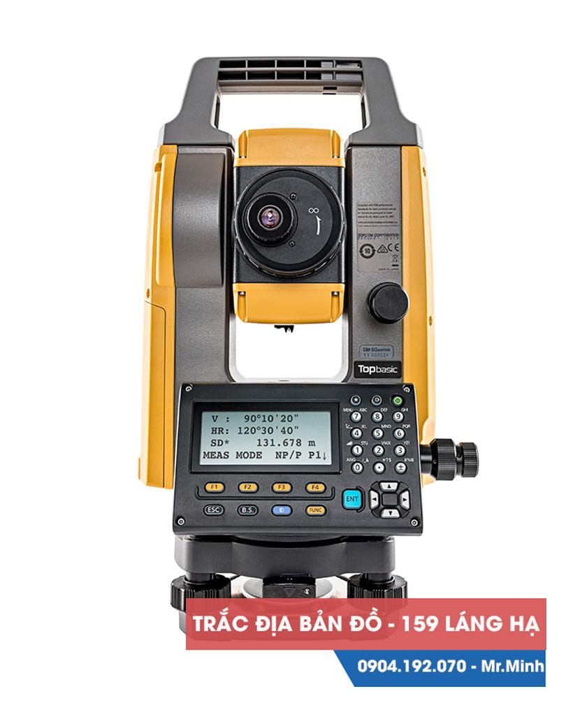 Máy toàn đạc điện tử Topcon GM55